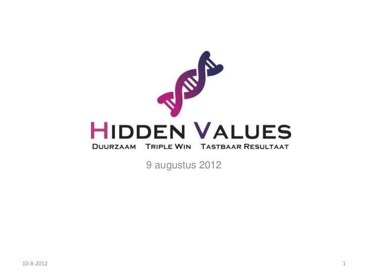 Slideshare hidden values 1.0