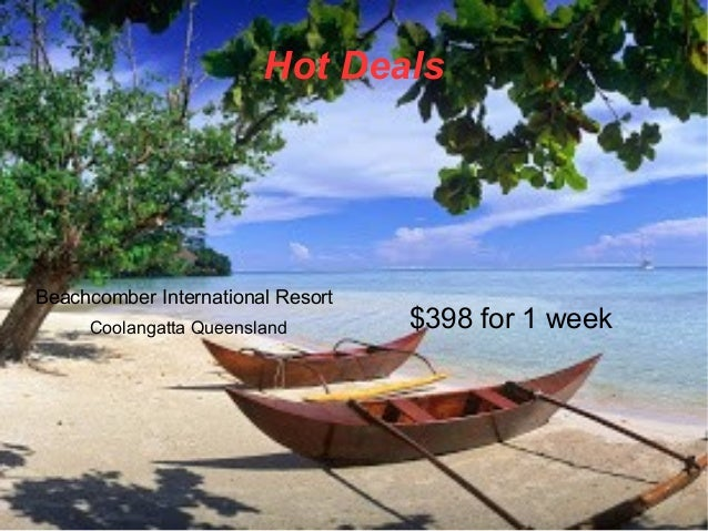 Hot Deals Beachcomber International Resort Coolangatta Queensland $398 for 1 week