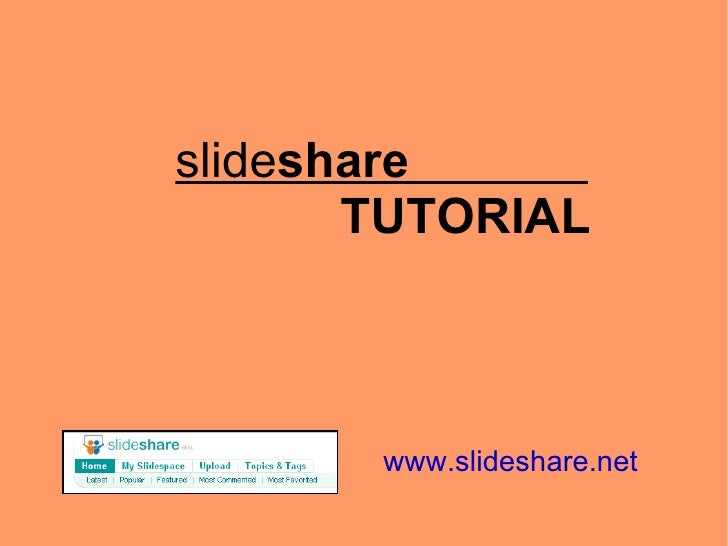 Slideshare it
