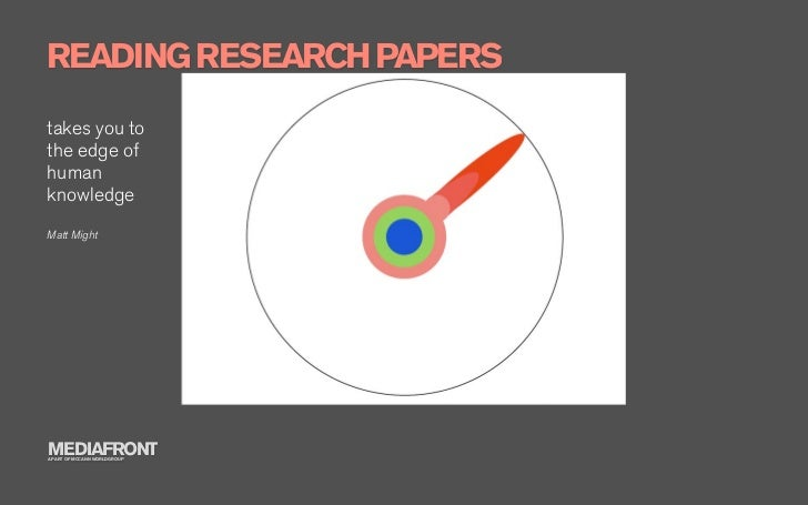 reading research papers How to read and get the most out of a journal article research projects efficient reading of papers in science and technology.