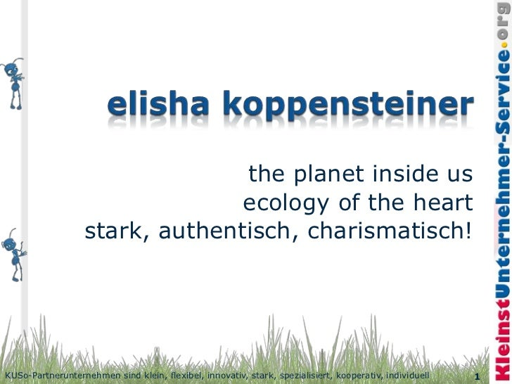 the planet inside us                                ecology of the heart                  stark, authentisch, charismatisc...