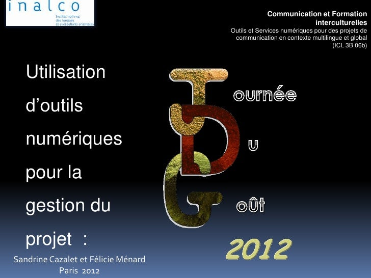 Communication et Formation                                                              interculturelles                  ...