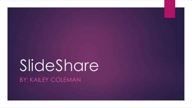 Using Slide Share