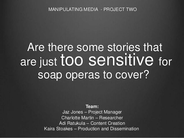 Manipulating Media - Project Two