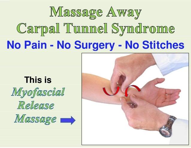 carpal tunnel massage