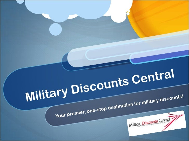 Military Discounts Central