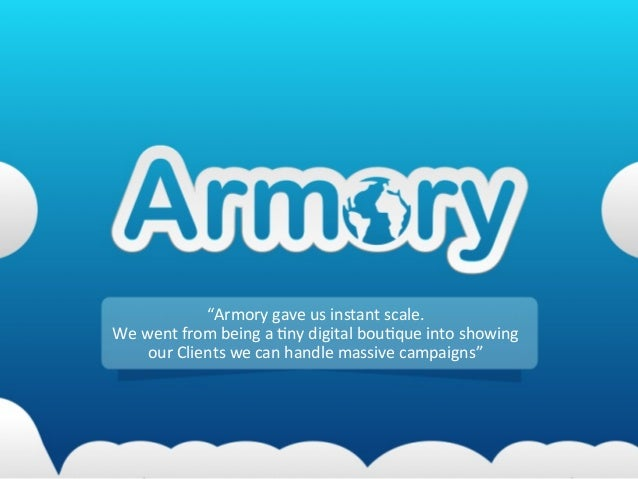 Clients say why they chose Armory for their advertising production needs