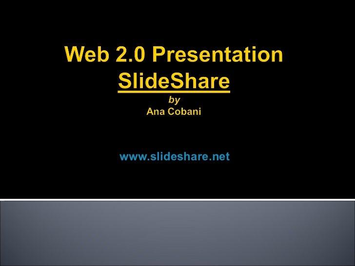 Slide share presentation a_cobani
