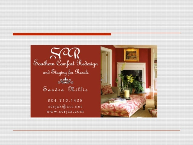 Sandra Millis Founder, Southern Comfort Redesign & Home  Staging Certified, licensed & insured home stager  serving grea...
