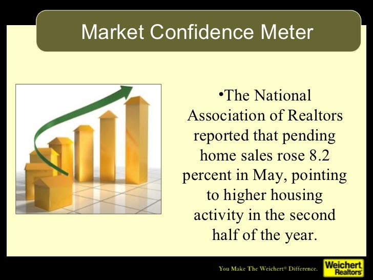 <ul><li>The National Association of Realtors reported that pending home sales rose 8.2 percent in May, pointing to higher ...