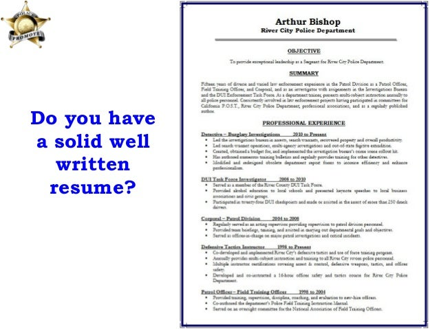 prepare resume for interview