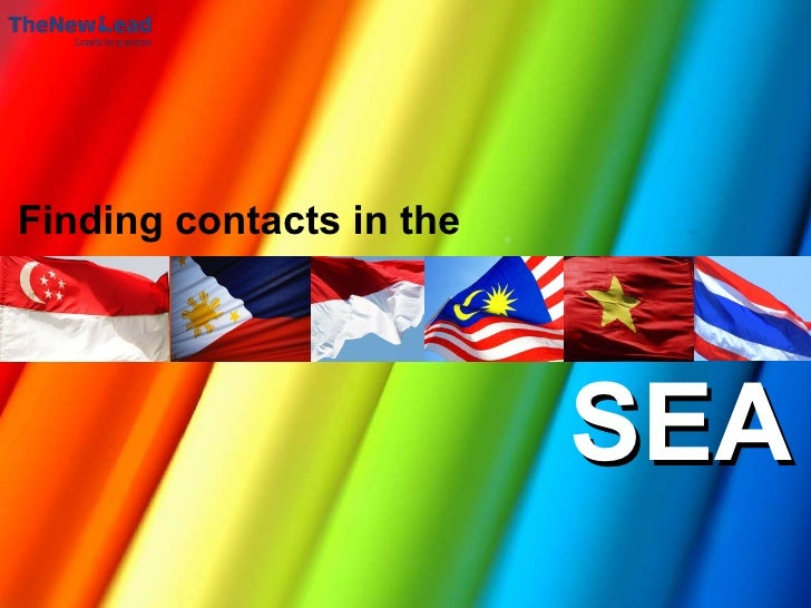 TheNewLead SouthEast Asian contacts