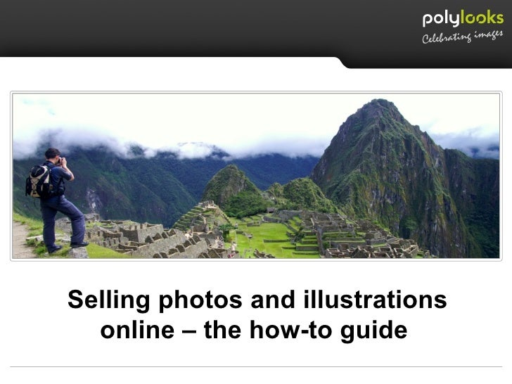 Selling photos and illustrations online – the how-to guide
