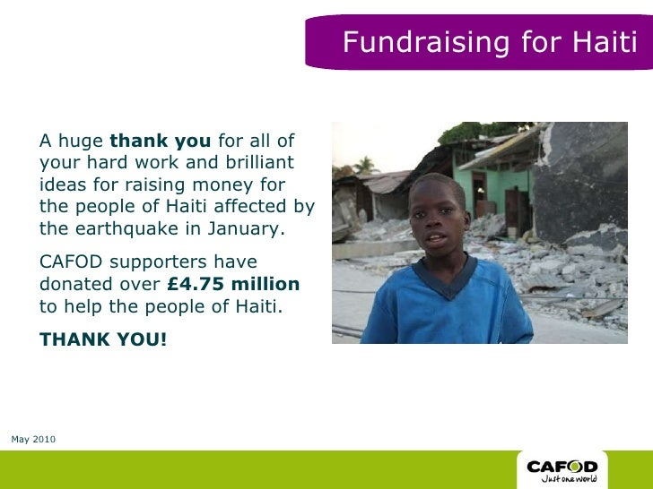CAFOD young people's activities