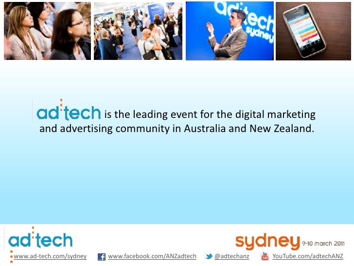 is the leading event for the digital marketing <br />and advertising community in Australia and N...