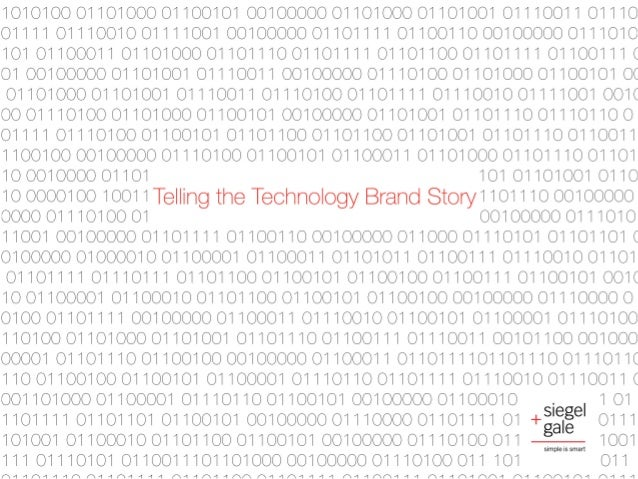 Telling the Technology Brand Story