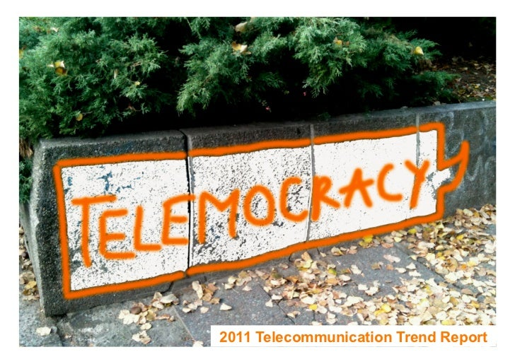 12011 Telecommunication Trend Report
