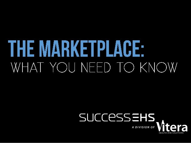 The Marketplace: What you need to know