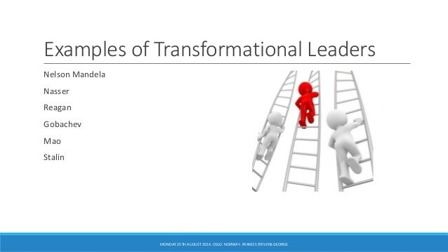 the effect of transformational leadership style on organizational innovation Two leadership styles that affect innovation: transformational and transactional leadership transformational leaders emphasize the necessity of organizational change in dynamic markets and promote creativity and innovation.