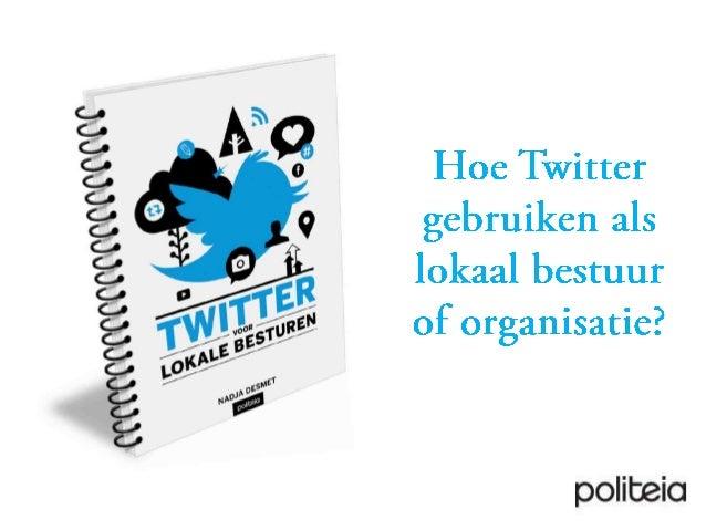 Twitter voor lokale besturen
