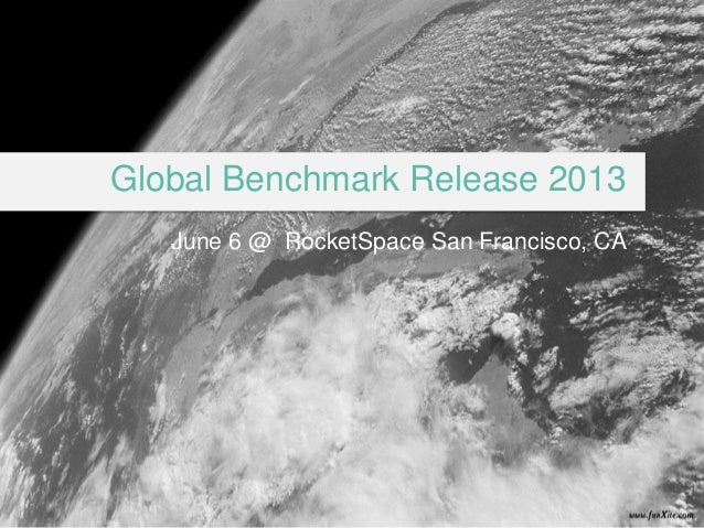#topincubatorGlobal Benchmark Release 2013June 6 @ RocketSpace San Francisco, CA