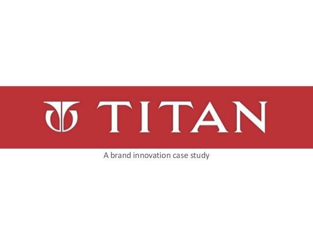 A brand innovation case study