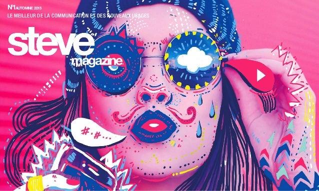 N°1AUTOMNE 2015 LE MEILLEUR DE LA COMMUNICATION ET DES NOUVEAUX USAGES magazine