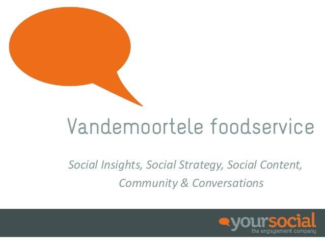 Slideshare Vandemoortele Foodservice - NL