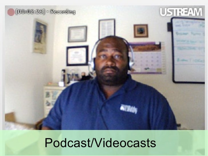 Podcast/Videocasts