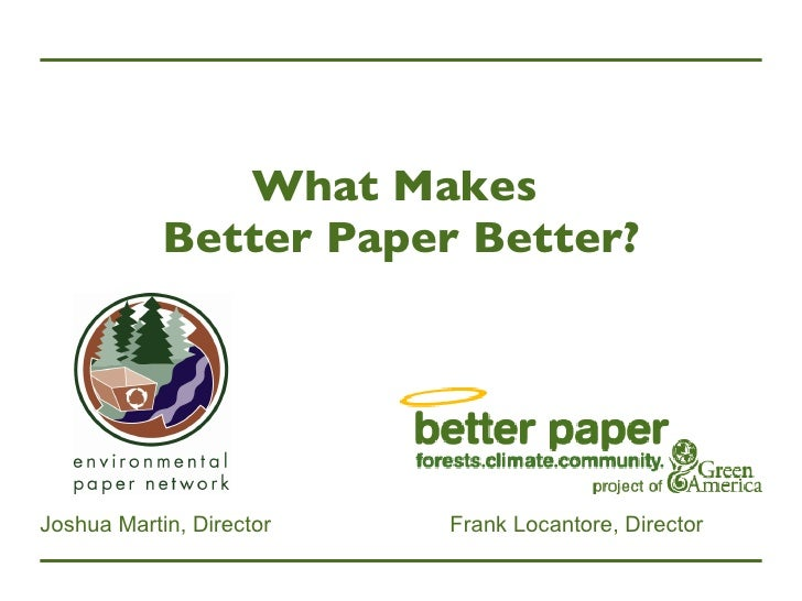 What Makes Better Paper Better