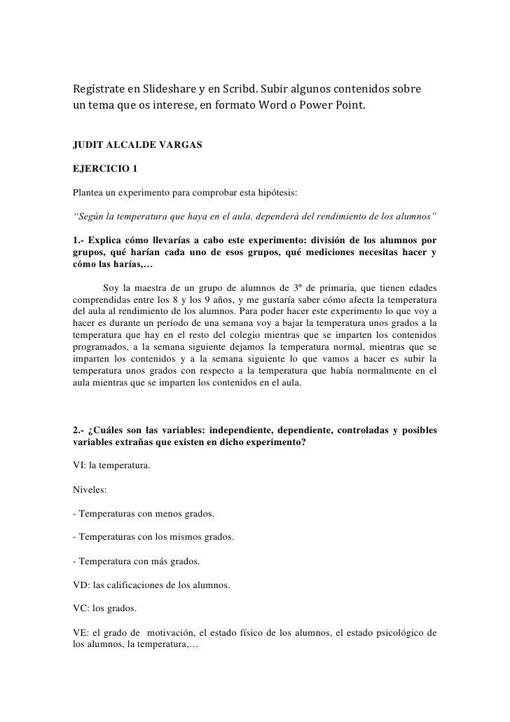 EXPERIMENTOS EN EL AULA
