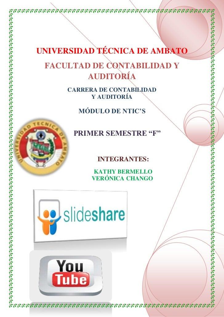 UNIVERSIDAD TÉCNICA DE AMBATO FACULTAD DE CONTABILIDAD Y         AUDITORÍA     CARRERA DE CONTABILIDAD           Y AUDITOR...