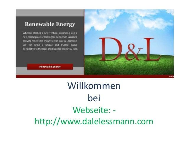 Willkommen bei Webseite: - http://www.dalelessmann.com