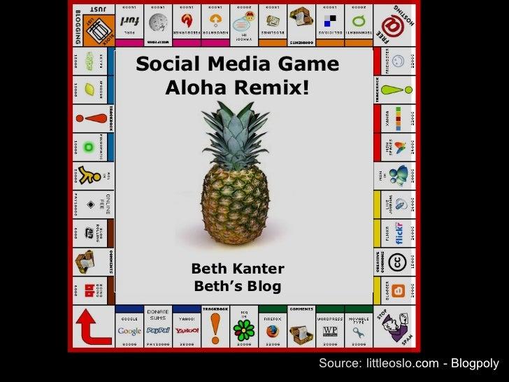 Source: littleoslo.com - Blogpoly Social Media Game Aloha Remix! Beth Kanter Beth's Blog