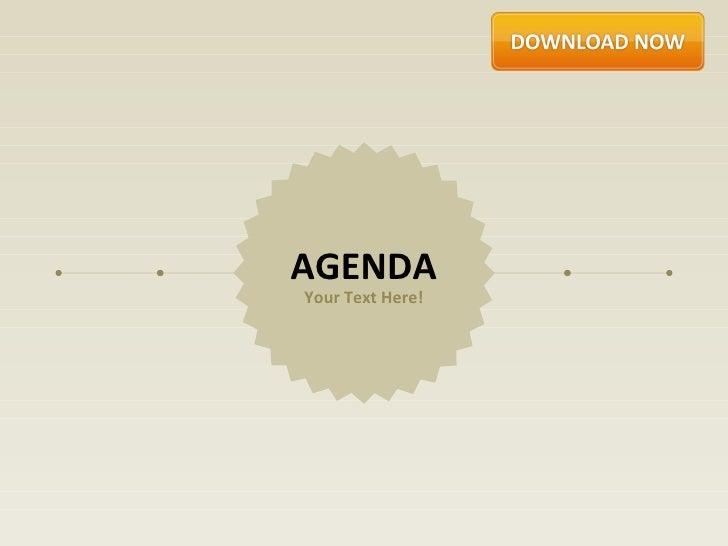 Agenda Corporate by Slideshop
