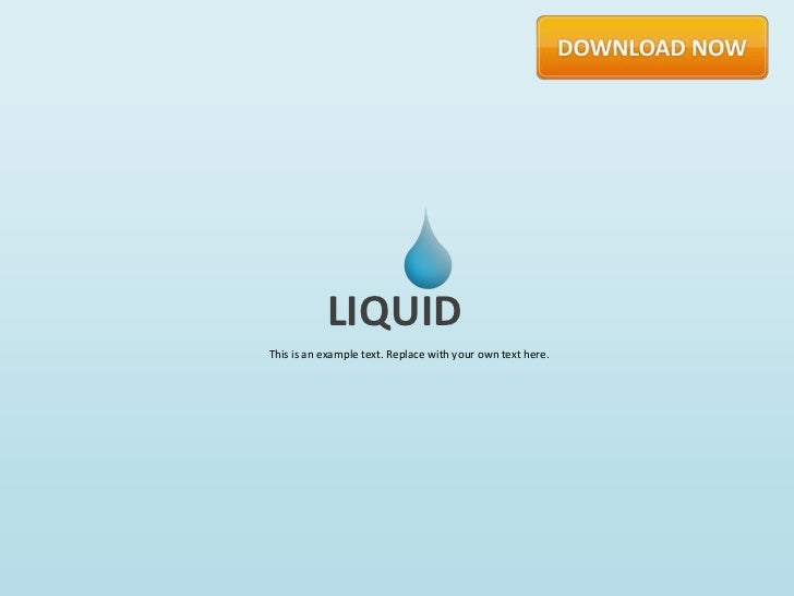 Liquid by Slideshop