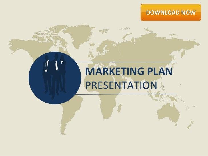 Marketing Plan Presentation by Slideshop