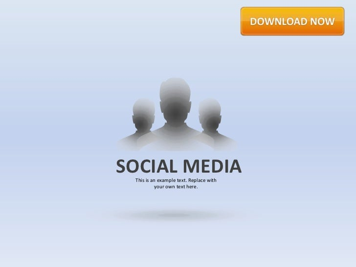 Social Media by Slideshop