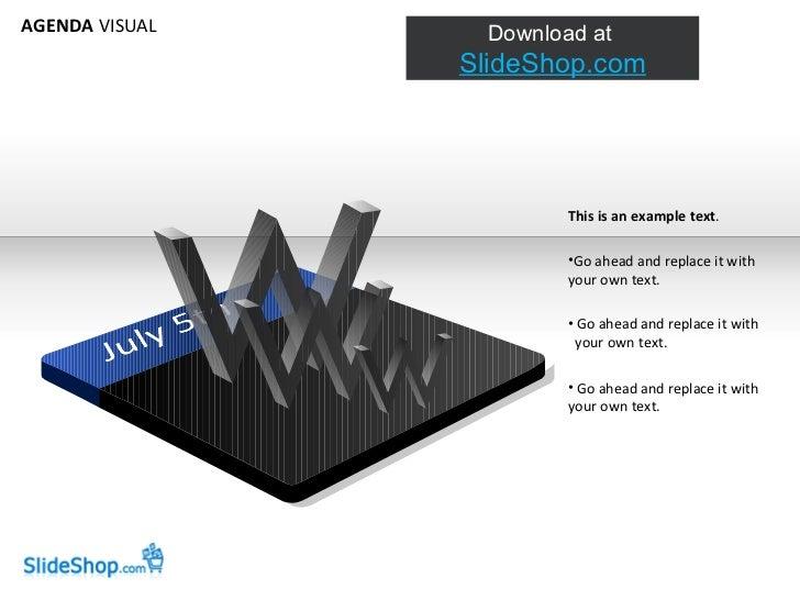Slideshop Agenda Visual