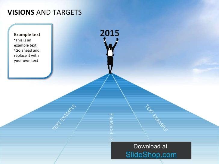 Slideshop vision &_targets