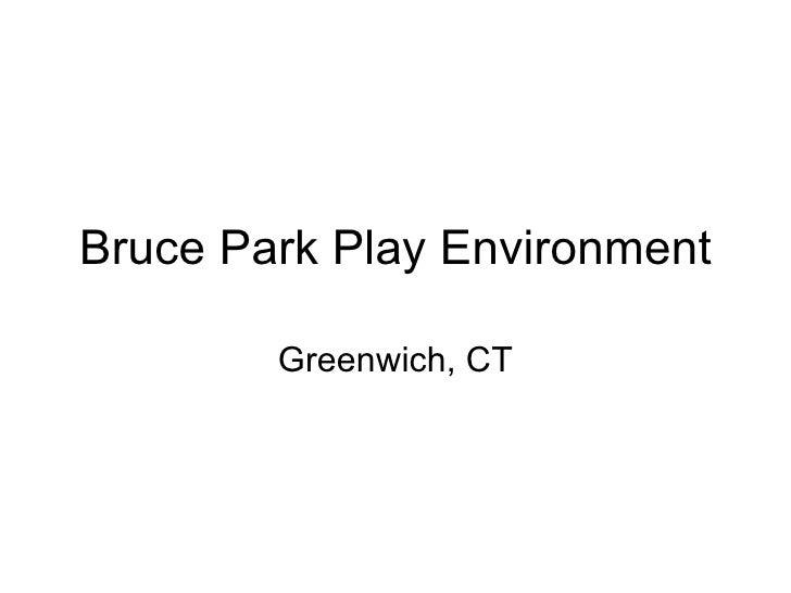Bruce Park Play Env.
