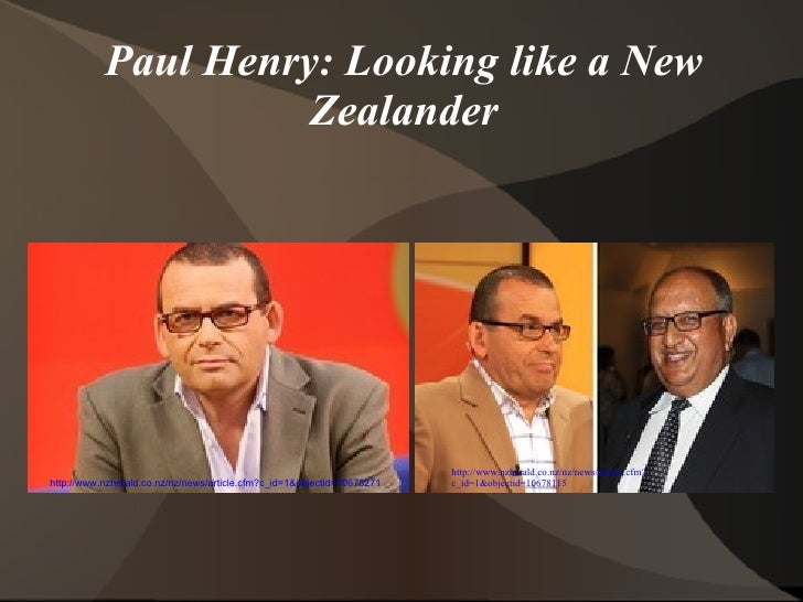 Paul Henry: Looking Like a New Zealander