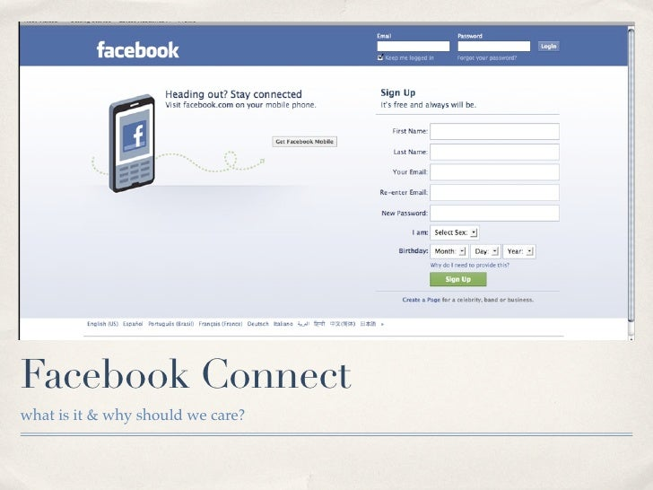 Facebook Connectwhat is it & why should we care?