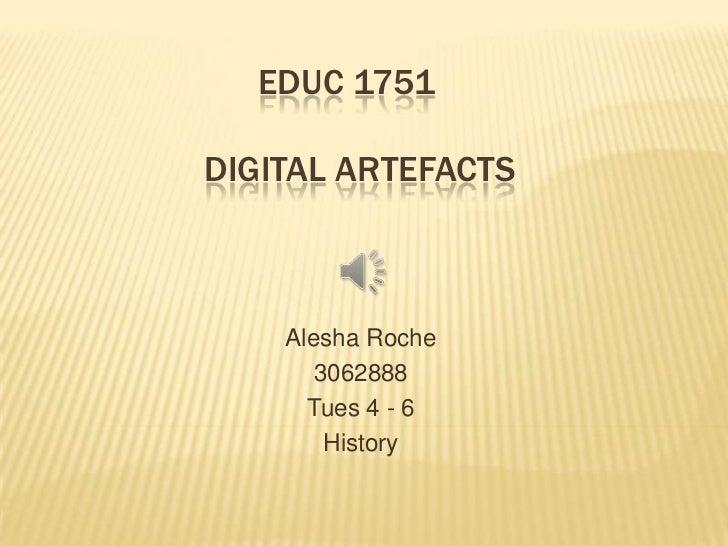 EDUC 1751 Slideshow