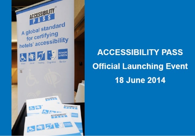 Tourism for All – Official launching event of the ACCESSIBILITY PASS hotels certification