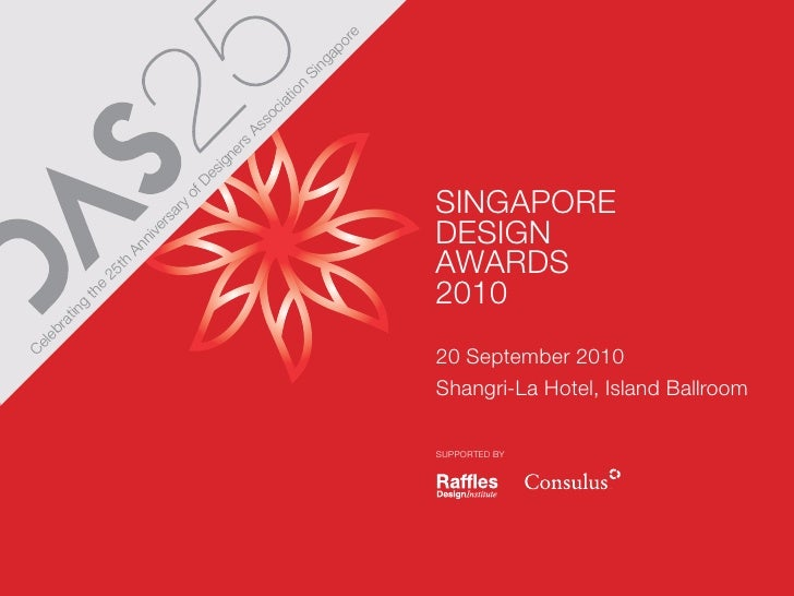 Singapore Design Awards 2010