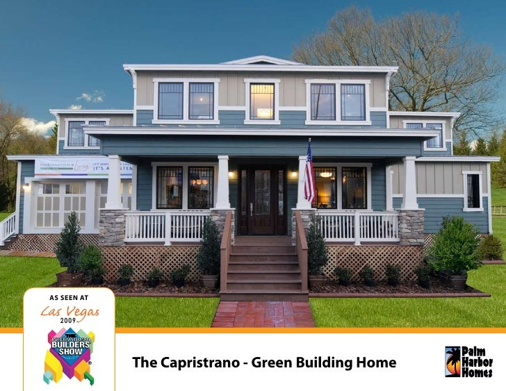 As seen AT     2009                  The Capristrano - Green Building Home