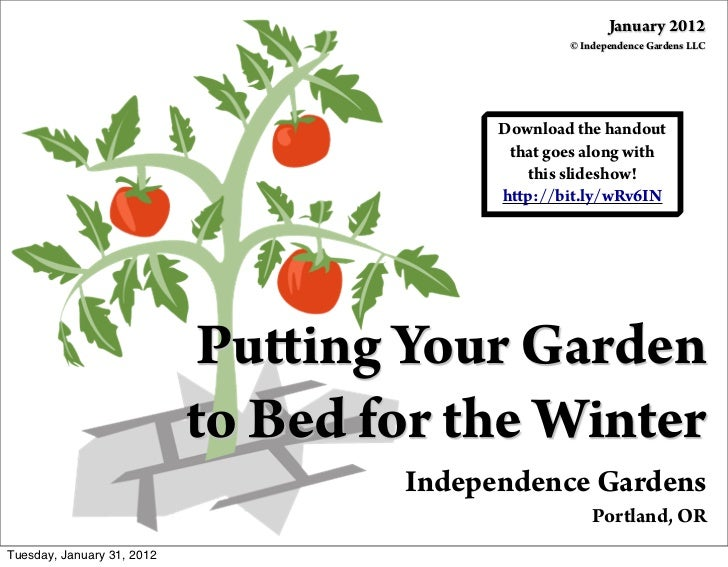 Putting Your Garden to Bed for the Winter