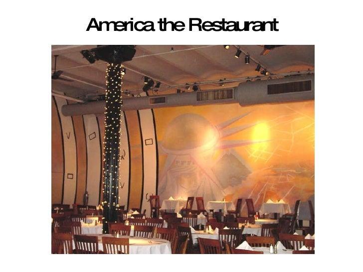 America the Restaurant