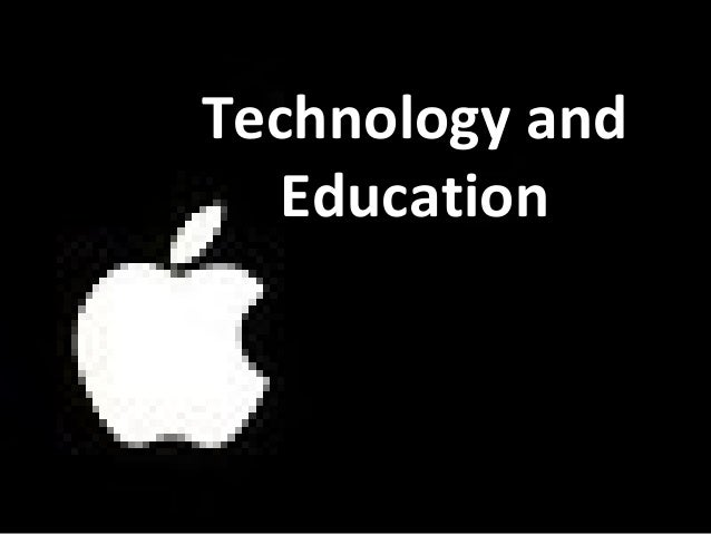 Technology and Education slide show